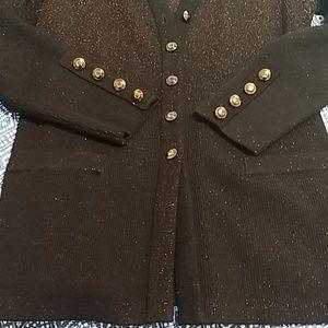 ESCADA Ombre sweater cardigan set
